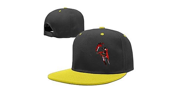 e395d0858f0 Hot Topic Rwby Ruby Rose Teen Flat Bill Cap Boys Girls Baseball Hat  Snapback Unisex Yellow  Amazon.co.uk  Books