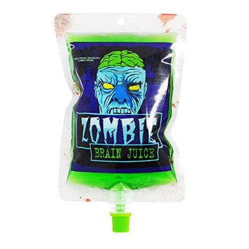 Riutilizzabile blood energy drink bag, kjh21creative halloween pouch props vampire cosplay positive water bottle drinks vampiro halloween beverage borse per caffè, bar, ktv etc, come da immagine, zombie