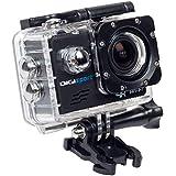 DigiSports Go Pro Style 8000 Sports Action Camera (Black)