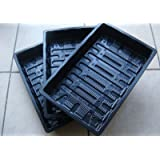 Nutley's 38cm Plastic Full-Size Seed Trays Without Drainage Holes (Pack of 6)