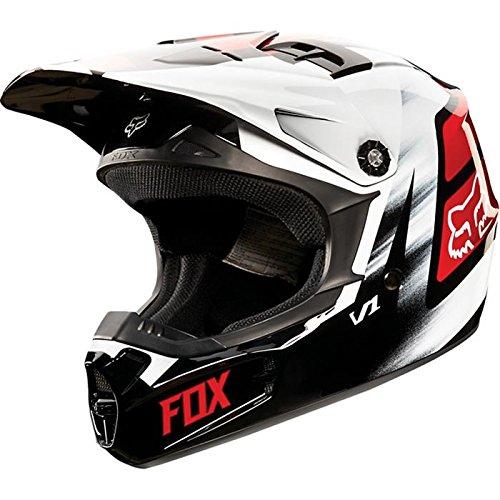 Fox - V1 Vandal - Casco de motocross infantil color rojo 2015 - M...