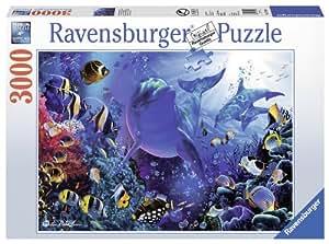 Ravensburger - 17058 - Puzzle Classique - Monde Sous-Marin Lassen - 3000 Pièces