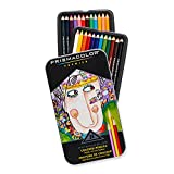 Best Color Pencil Sets For Adult Colorings - Prismacolor Premier Colored Pencil Set 24/Tin Review