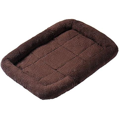 Gato del perro casero de la perrera colchoneta suave sofá cama - Café, M