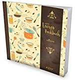 """GOCKLER® Leeres Kochbuch: Ein Rezeptbuch zum Selbstgestalten / Selberschreiben • Für 100 Lieblingsrezepte, mit Register uvm. • DesignArt """"Kochtöpfe"""" • Softcover, ca. 21 x 21 cm"""