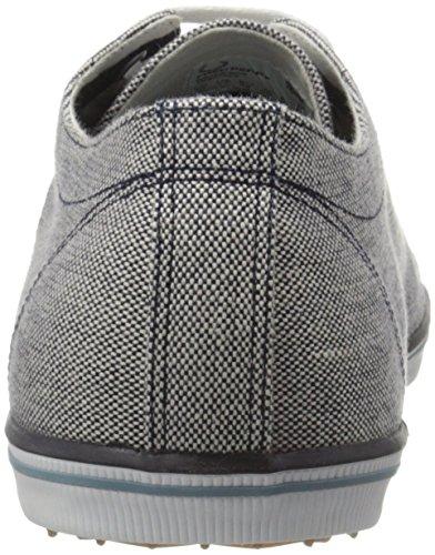 Fred Perry Kingston 2 Tone Canvas B8206608, Herren Sneaker Blau
