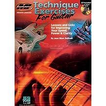 JMarc Belkadi Technique Exercises For Guitar Gtr Book/Cd