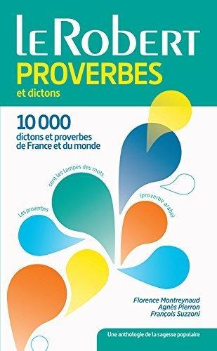 Dictionnaire des proverbes et dictons de Agnès Pierron (27 mai 2015) Broché