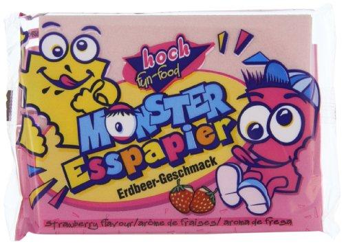 Preisvergleich Produktbild HOCH fun-food Monster Esspapier,  20er Pack (20 x 29 g)
