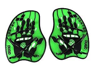arena Vortex Evolution Hand Paddle, Acid-Lime/Black, M, 95232