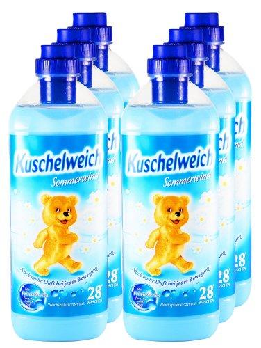 6er-vorteilspack-kuschelweich-weichspuler-sommerwind-6000-ml-fur-168-anwendungen