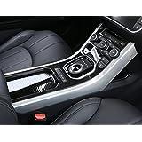 Pour Land Rover Range Rover Evoque 2013–2016Console Centrale Gear d'ABS foncé Grain de bois Garniture décorative Coque