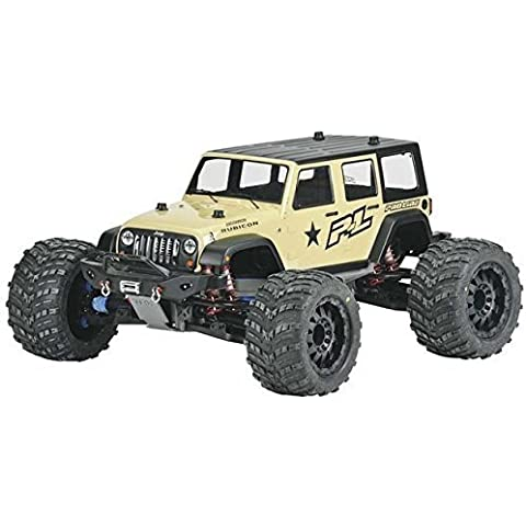 Jeep Wrangler Unlimited Rubicon Clear Body:TMX3.3 by Pro-line Racing - Wrangler Unlimited Rubicon