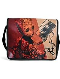 Guardianes de la Galaxia Vol 2 bolso de mensajero Baby Groot Mixtape de Elbenwald