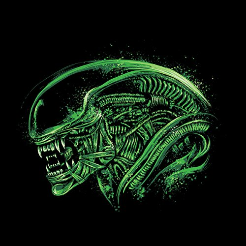Aliens Space Nightmare Men's Vest Black