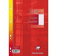 Copies doubles 21x29,7 300p séyès sous film