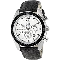 Jivago Men's 'Timeless' Quartz Stainless Steel Casual Watch (Model: JV4510)