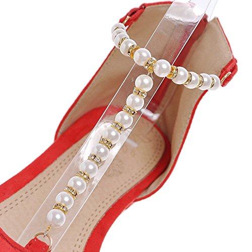 Fashion Heel - Strap alla caviglia donna Orange