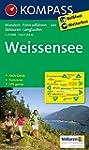 Weißensee: Wanderkarte mit Aktiv Guid...