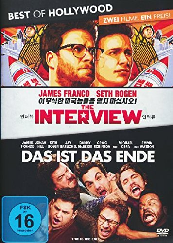 #The Interview/Das ist das Ende – Best of Hollywood/2 Movie Collector's Pack 162 [2 DVDs]#