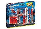 Playmobil- City Action Giocattolo Grande Centrale dei Vigili del Fuoco, Multicolore, 9462