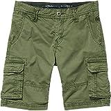 O'Neill Jungen Cali Beach Cargo Shorts Streetwear, Bronze Green, 176