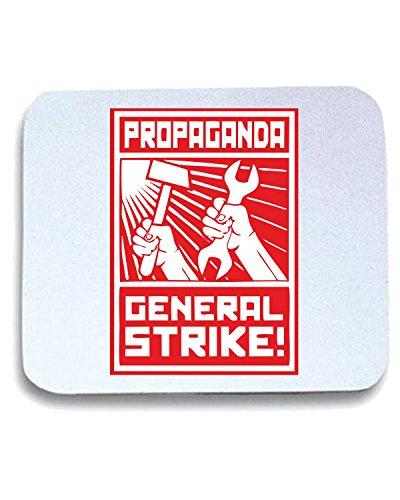 T-Shirtshock - Tappetino Mouse Pad TCO0001 general strike comunismo, Taglia taglia unica