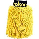 Rolson Gant de lavage «Mille Pattes» microfibre