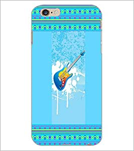 PrintDhaba Guitar D-3555 Back Case Cover for APPLE IPHONE 6S PLUS (Multi-Coloured)