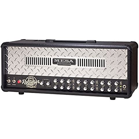 Mesa Boogie Dual Rectifier Reborn (Polished Diamond Plate) - Diamond Plate Chitarra