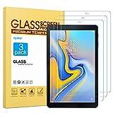 apiker [3 Stück] Schutzfolie für Samsung Galaxy Tab A 10.5 SM-T590 / T595,Tab A 10.5Panzerglasfolie mit 9H Härte,Bläschenfrei,2.5D abger&et Kante,mühelosanzubringen