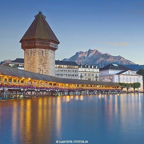 Schein da viaggio buono regalo 3giorni nel paese di * * * * Bird–The Hotel sempach nei pressi Luzern