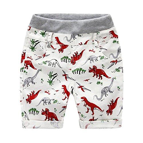 Brightup Dinosaurier Gedruckte Shorts für Little Junge Sommer Kinder Shorts Hosen (Trunk Swim 4t)