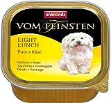 Animonda Feinsten Hundefutter Light Lunch Pute + Käse, 22er Pack (22 x 150 g)