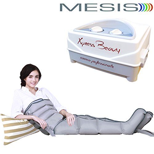 Mesis xpress beauty - pressoterapia con 2 gambali e kit slim body