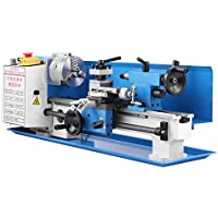 Mophorn Metall Drehmaschine 7 x 14 Zoll Precision Mini Drehmaschine Variable Geschwindigkeit 2500 RPM 550W Drehmaschine Drehbank Micro Metal Fräsmaschine Bank Drehmaschinen