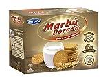 Marbú - Dorada Sabrosa y Crujiente - Galleta Maria - 800 g - [pack de 3]