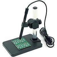 KKmoon Alto Definición Digital Microscopio Aumento1-600X Lupa Aumentador Herramienta BolígrafoEstilo Usb Hd 2.0MpVídeo Incorporado 6 Led LucesB006
