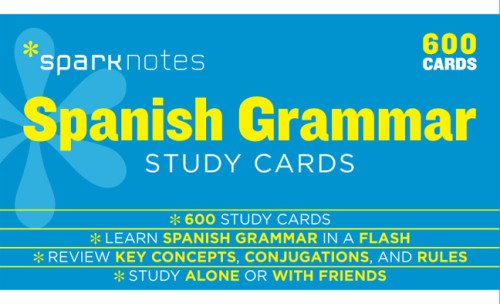 spanish-grammar-sparknotes-study-cards