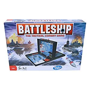 Hasbro Gaming Battleship Board Game Classic Strategy Game for Kids Ages 7 and Up, for 2 Players