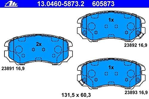 ATE 13.0460-5873.2 Bremsbelagsatz, Scheibenbremse
