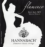 Hannabach 652927 Série 827 Cordes pour Guitare Classique Medium tension Flamenco Classic