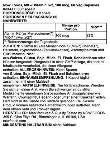 Zoom IMG-2 now foods mk 7 vitamin