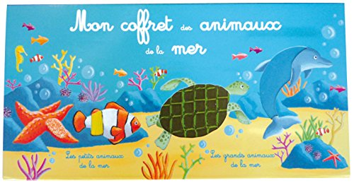 MON COFFRET DES ANIMAUX DE LA MER