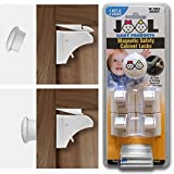 Jool Magnetic Cabinet Safety Locks Set w...