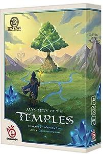 Asmodee EMPMOT01 Mystery of The Temples, alfonbrilla para ratón