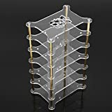 Ils - Clear Acrylic 6 Layer Cluster Case Shelf Stack for Raspberry Pi 3/2 B and B+