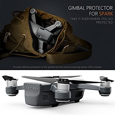 LoKauf PGYTECH Integrated Cover Gimbals/ Camera/ Front 3D Sensor System Screen Protector Dustproof Accessories for DJI Spark Drone