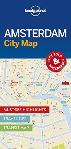 Amsterdam City Map (Lonely Planet City Maps) (Amsterdam Stadtplan)