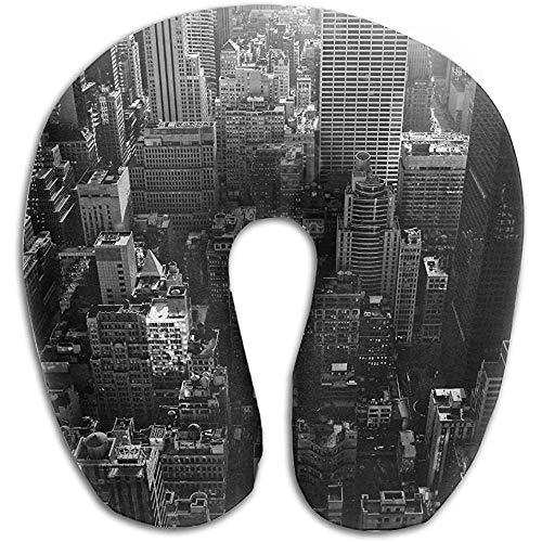 Almohadas De Viaje,Almohada De Cuello Multifuncional De Viaje De Nueva York para...